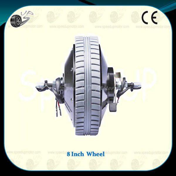 8inch-powered-wheel-24v-200w-brushed-dc-hub-motor