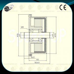 11V Customized Motor,Brushless Direct Drive DC