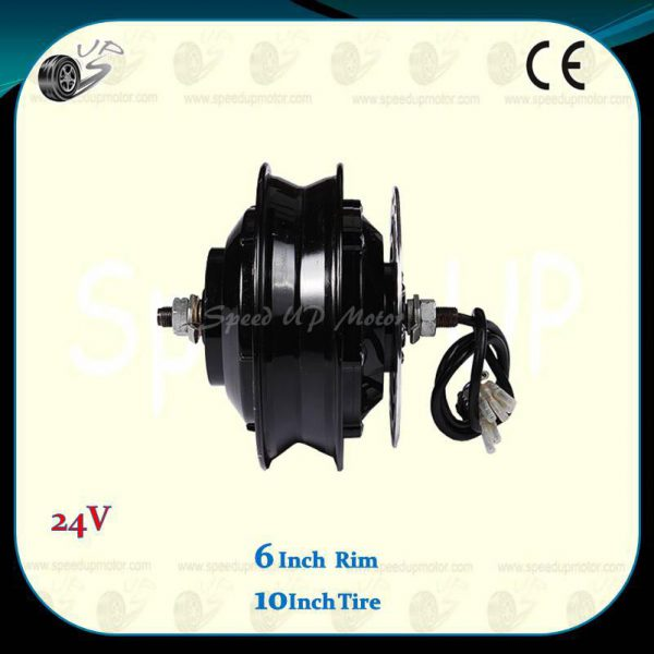 6-inch-wheel-24v-300w-brushless-gearless-dc-hub-motor-2dy-a