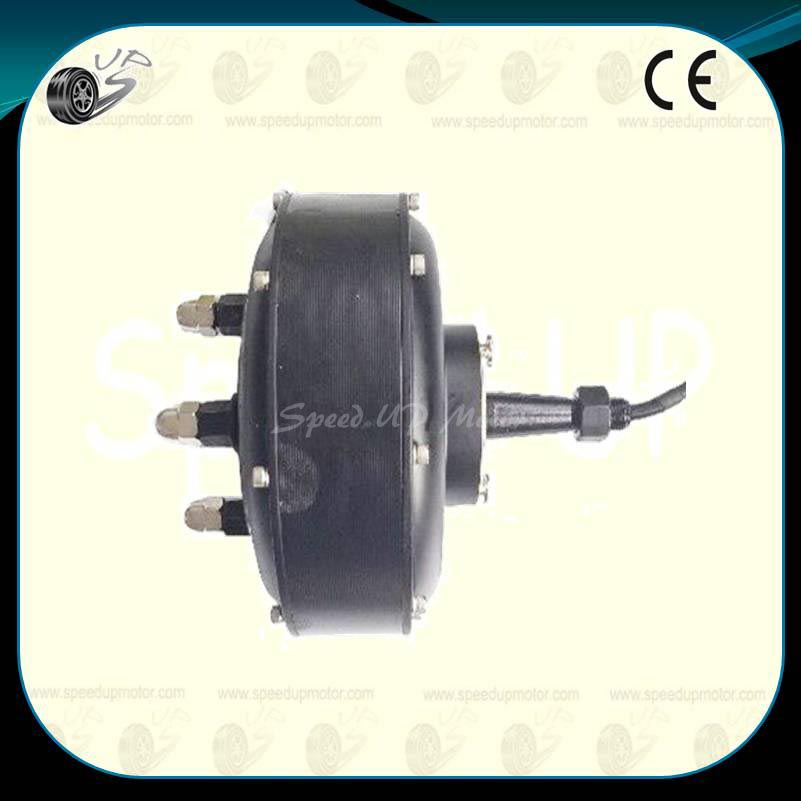 Electric car brushless hub motor single shaft bldc 205h01 for Electric car motor manufacturers