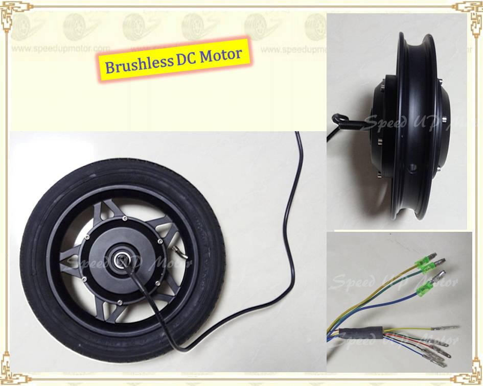 12 inch electric wheel motor 36v 200w250w350w hub motor for Scooter hub motor kit