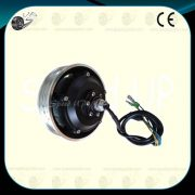 24v brushless gear wheel hub dc motor electric scooter motor