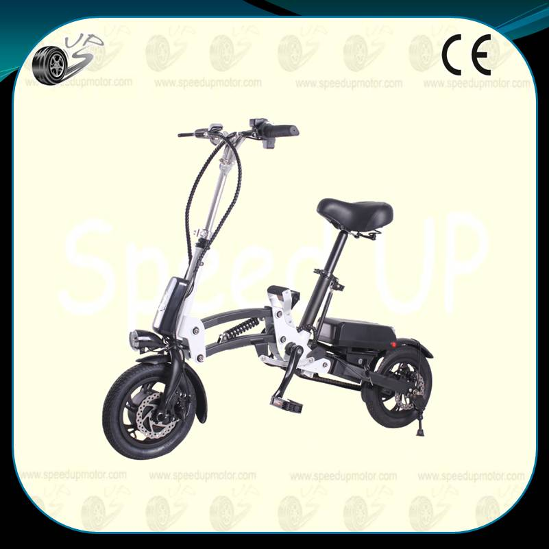 12Inch Electric Bicycle,One Second Folding Ebike,Aluminum and ...