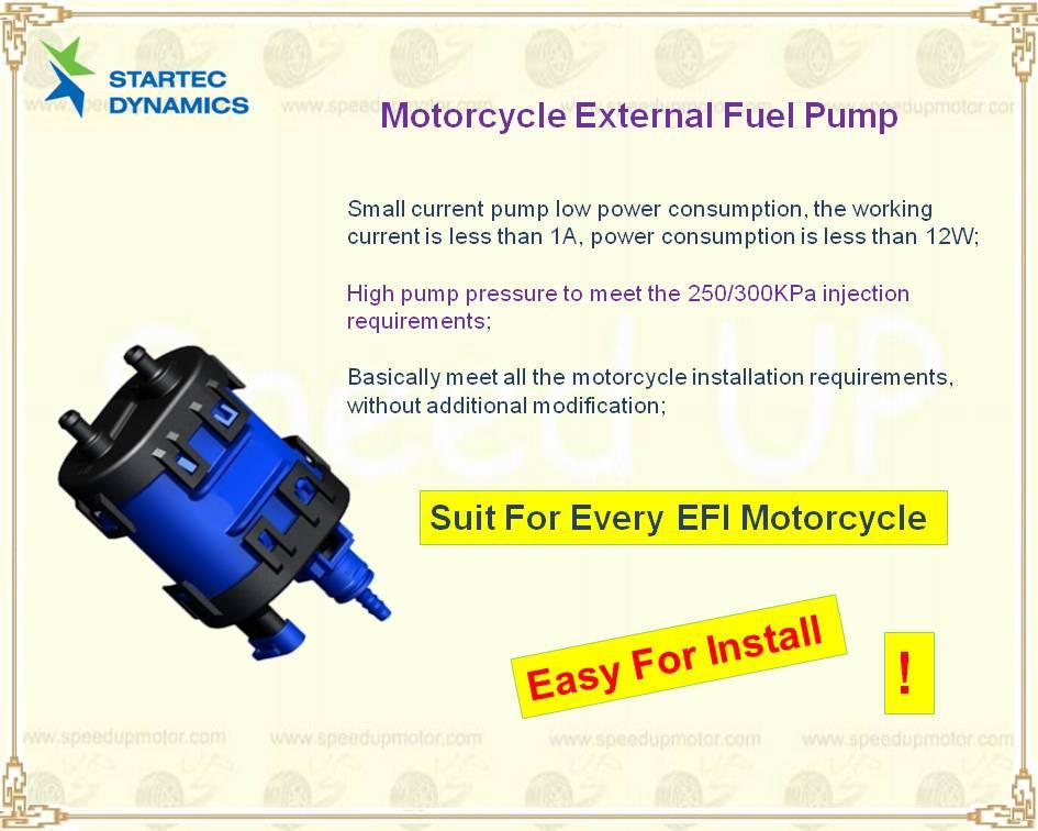 External Fuel pump UAV Constant pressure regulator Small engine EFI
